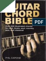 Phil Capone Guitar Chord Bible