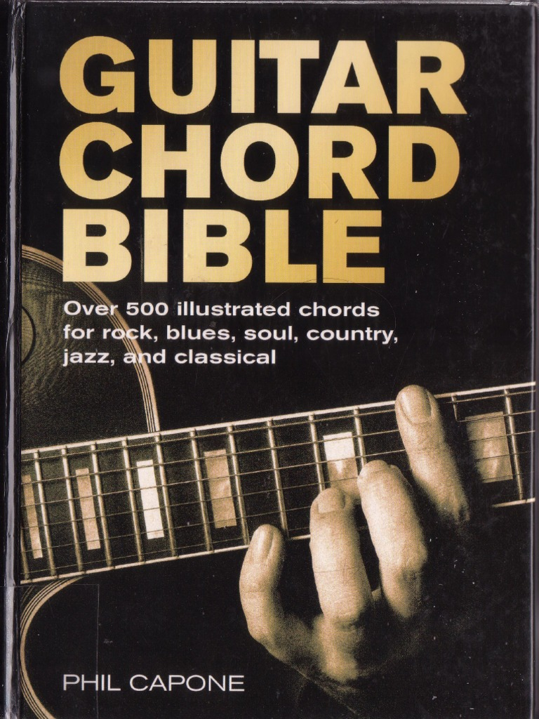 Phil Capone Guitar Chord Bible