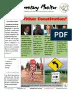 Parliamentary Monitor- 15 February 2012