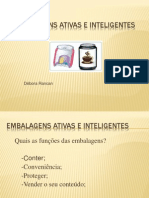 - Power Point Embalagens Ativas e Inteligentes
