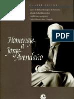 Libro homenaje a Jorge Avendaño
