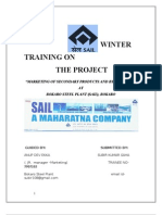Project Report on Sail