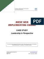 Leadership Case Study_Music Web