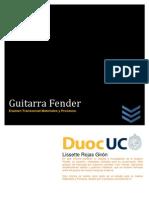 Guitarras FENDER PDF