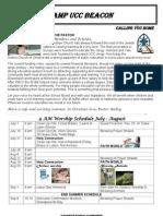 2013 JulyAugust Newsletter