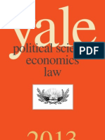 Yale University Press Political Science, Economics, and Law 2013 Catalog