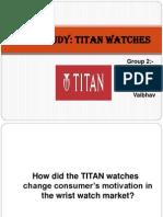 Titan Watch Consumer Motivation