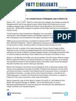 Moffatt PreCandidacyAnnouncement