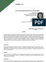 Psicologiapdf 103 Discriminacion en La Contratacion de Personas Con Discapacidad