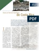 Hacia un Servicio Geológico de Costa Rica, Crisol 12-2004