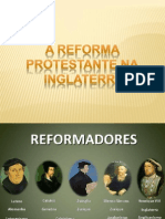 Trabalho de História - Reforma na Inglaterra
