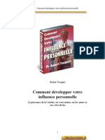 Comment Develop Per Votre Influence Personnelle