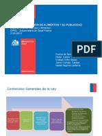14. Ley de alimentos 20606 sobre composición de alimentos y su publicidad_Jaime Cornejo