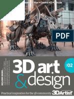 3D Art & Design - Volume 2, 2013