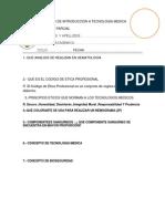 Curso de Introduccion a Tecnologia Medica(Pp)