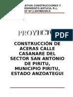 Proyecto (Aceras Calle Casanare San Antonio)