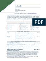 business consultant resume sample