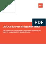 ACCA Accreditation Status