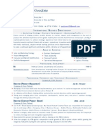 Business Director Resume CV Template