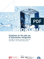 Guidelines Safe Use of Hydrocarbon