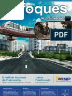 Revista Enfoques de Preinversión _ Primera Edición, Marzo - Abril 2013