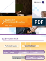 Qualcomm Technology Evolution (Sept 2010)