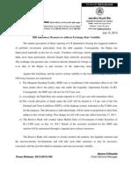 RBI Measures to Address Exchange Rate Volatility