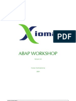 Abap Workshop