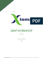 Abap Workshop