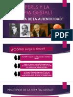 Fritz Perls y La Terapia Gestalt