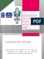 MODELADO DE ANÁLISIS PARA APLICACIONES WEB