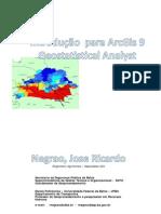 NEGRAO, Joao Ricardo - Introdução ao Geostastical Analyst do ArcGis
