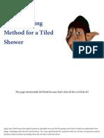 How to Do a Shower