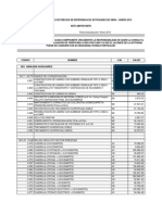 Listado Precios IDU