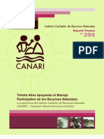 CANARI Reporte Tecnico No. 395