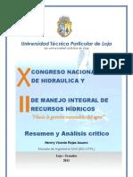 X Congreso nacional de hidráulica y II de manejo integral del recurso hídrico-Henrry Rojas Asuero