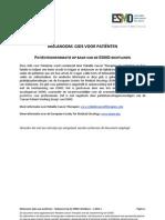 ESMO-RCT-Melanoom-Gids-Voor-Patiënten-2013