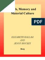 Hallam y Hockey - Death, Memory and Material Culture