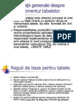 Manag tabele
