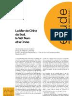 Etude La Mer de Chine Du Sud Le Viet Nam Et La Chine