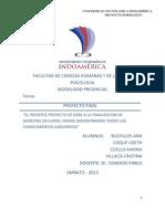 Proyecto Formativo de Investigacion
