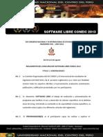 3 Bases Concurso de Software Libre Coneic 2013