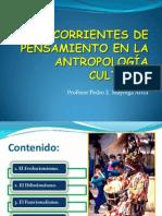 Corrientes de Pens Amien to en a Cultural
