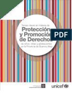 Temas Claves sobre derechos del niño en la pcia de bs as