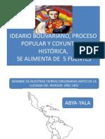 LECTURA 1   SOCIOPOLITICA  BOLIVARIANISMO 1