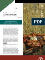Estado mundial de la agricultura y la alimentación 2013