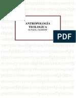 ANTROPOLOGÍA TEOLOGICA
