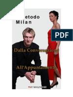 Anteprima Manuale Di Seduzione Metodo Milan Dalla Conversazione All Appuntamento