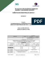(4) G691074-B1083-U088-1 Memoria Cadena de Aisladores
