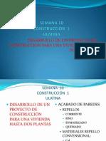 Desarrollo de un proyecto de construcción para una vivienda hasta 2 plantas